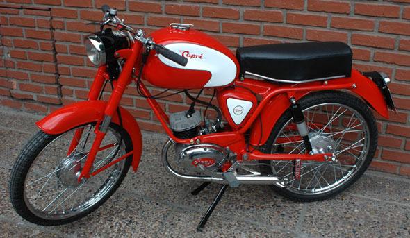 Moto Capri 75 1957