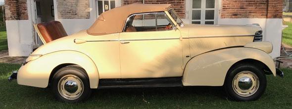 Auto Oldsmobile 1938 Cabriolet