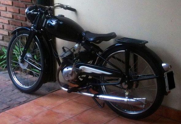 Puma 2da. Serie Motorcycle