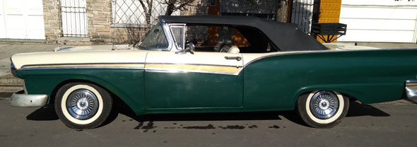 Auto Ford 1957
