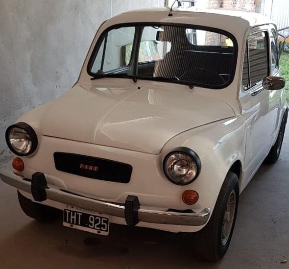 Auto Fiat 600 R