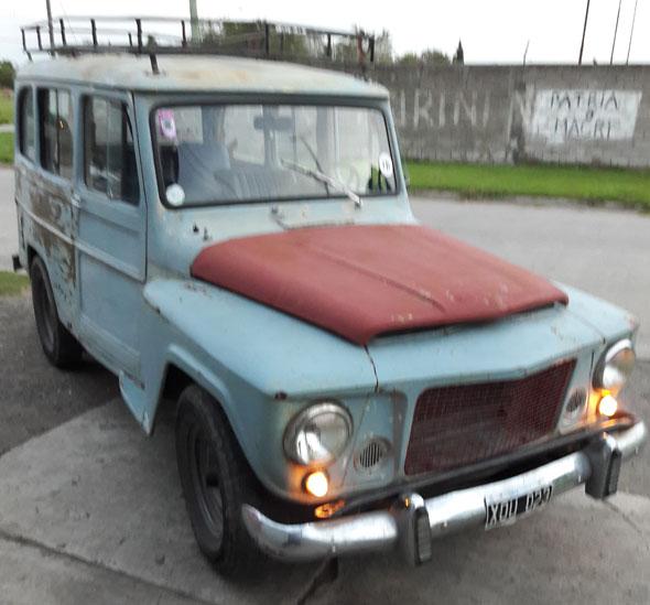 Auto Estanciera 1969 Brasilera