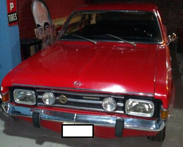 Auto Opel Rekord Comodore