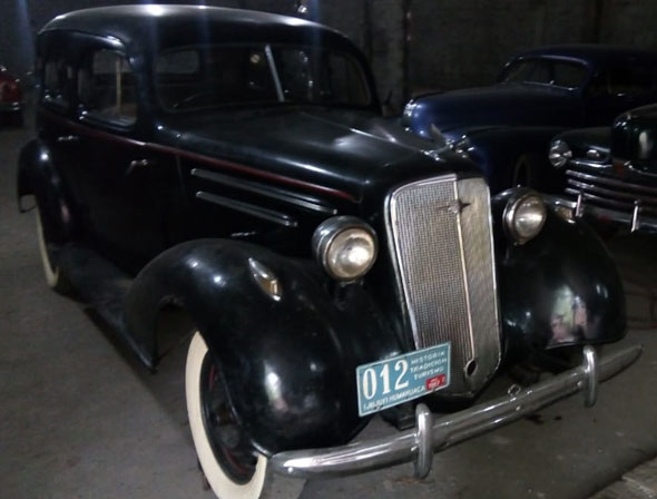 Auto Cherolet 1935