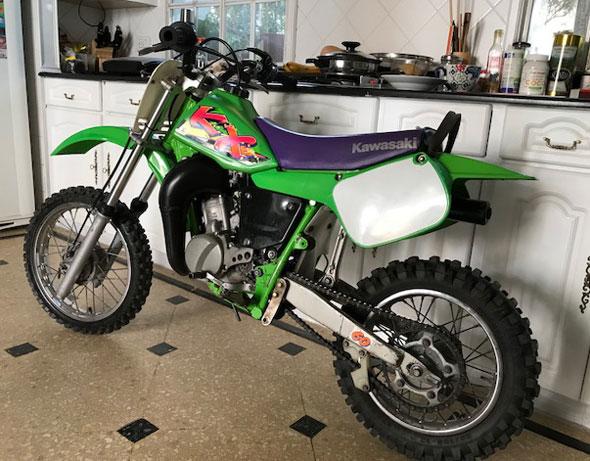 Moto Kawasaki KX60