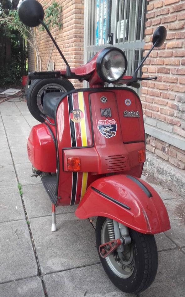 Moto Vespa Bajaj Cheetak
