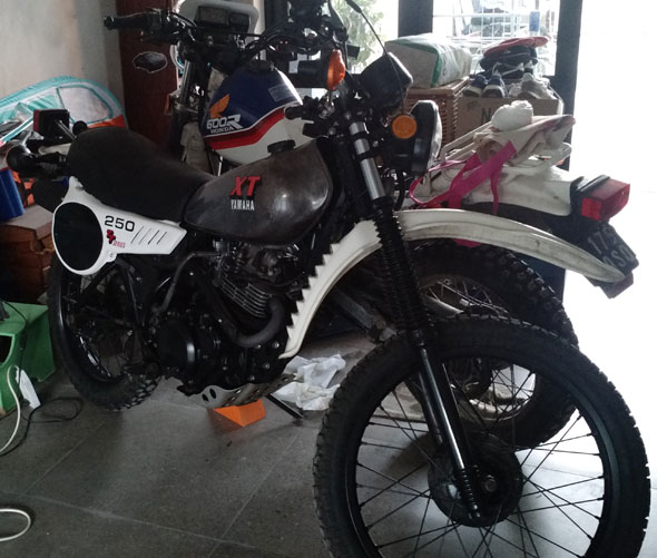 Yamaha XT 250 Motorcycle