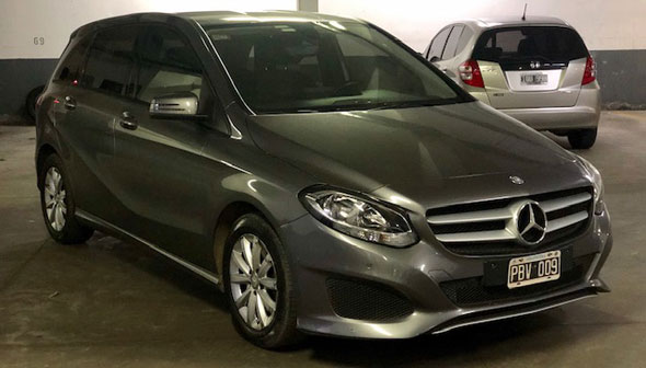 Auto Mercedes Benz Clase B200 City At 2015