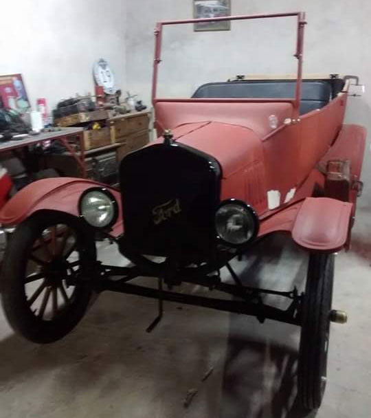Auto Ford T 1922