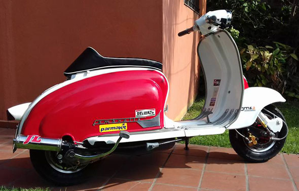 Siambretta TV 175 1963 Motorcycle