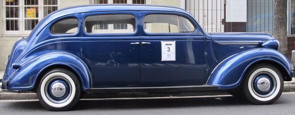 Auto Plymouth 1938 Limousine De Luxe