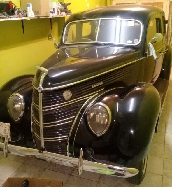 Car Ford 1938