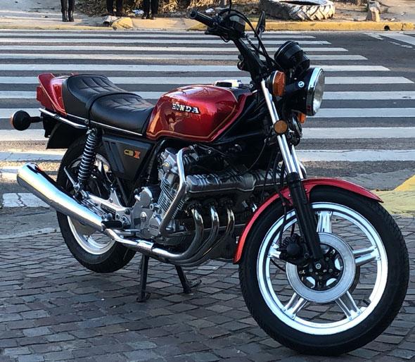 Moto Honda CBX 1047 1979