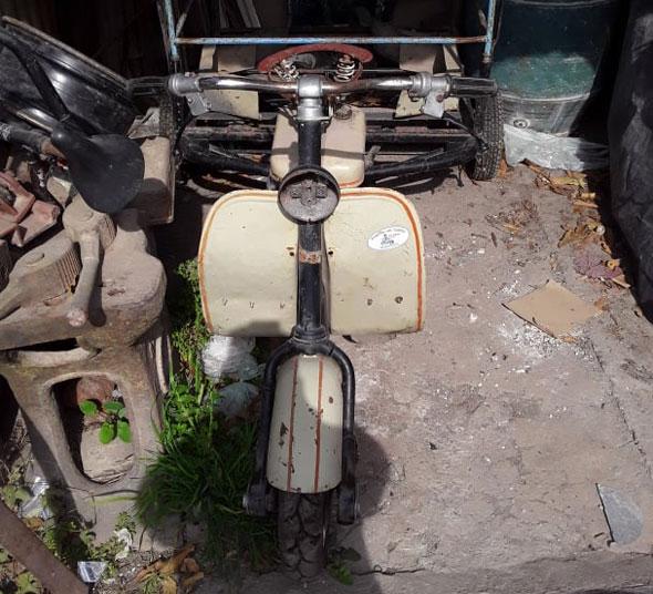 Moto Siambretta 125 1960