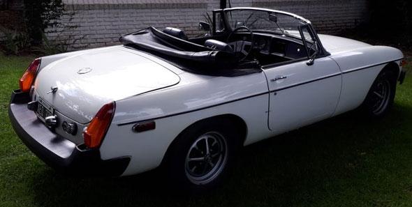 Auto MG B