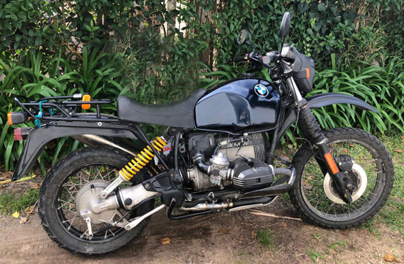 BMW R100GS Motorcycle