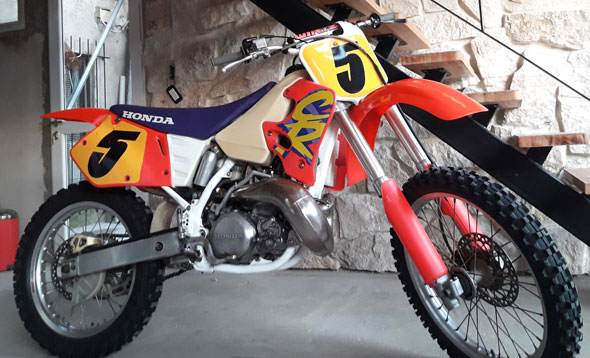 Honda CR250 Motorcycle