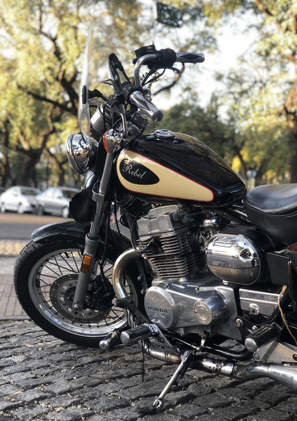 Moto Honda Rebel 450 CMX