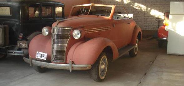 Auto Chevrolet 1938 Roadster