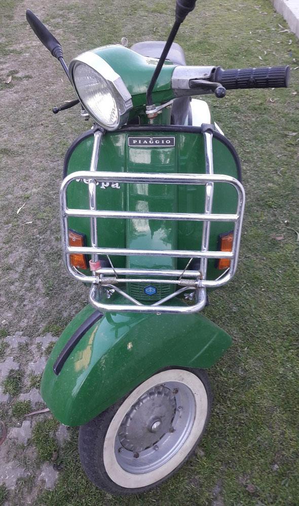 Vespa P200E Motorcycle