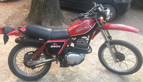 Honda XL 250S Motorcycle