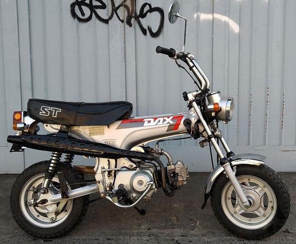 Moto Honda Dax ST 70