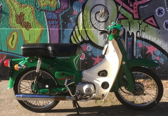 Honda Econo Power C90 Motorcycle