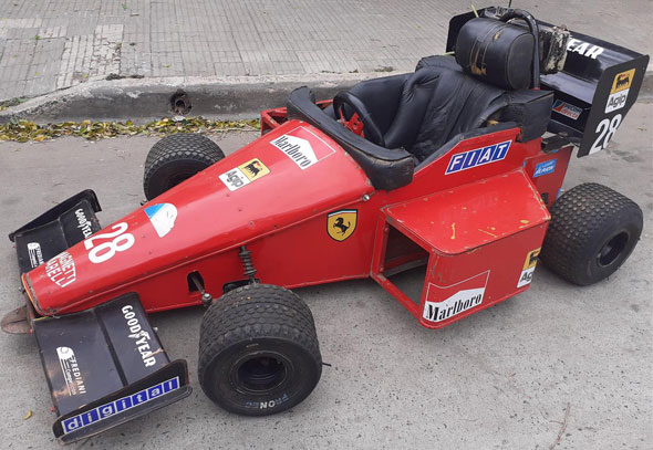 Auto Zanella Fórmula 1