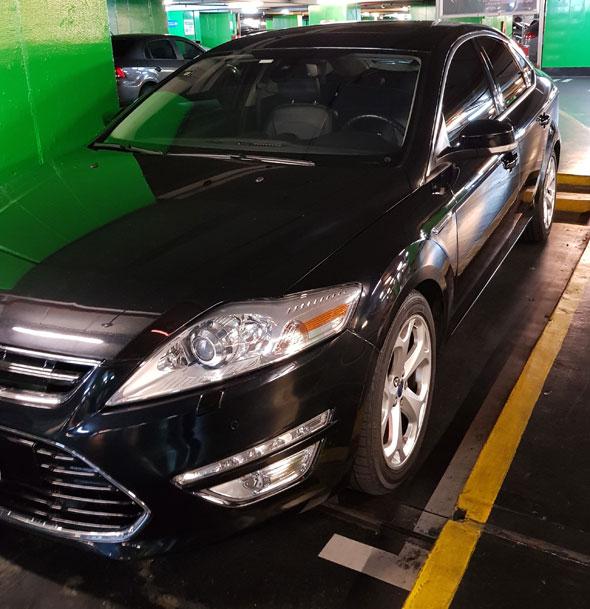 Auto Ford Mondeo Titanium