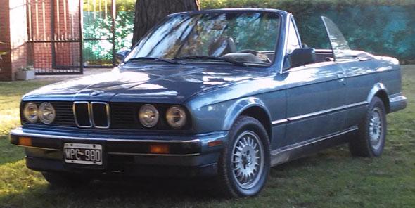 BMW 325 I Convertible E30