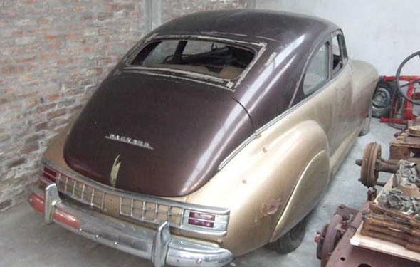 Auto Packard Coupé Super Clipper