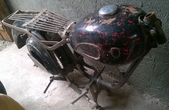 DKW 200 Motorcycle