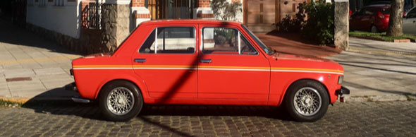 Auto Fiat 128 Iava