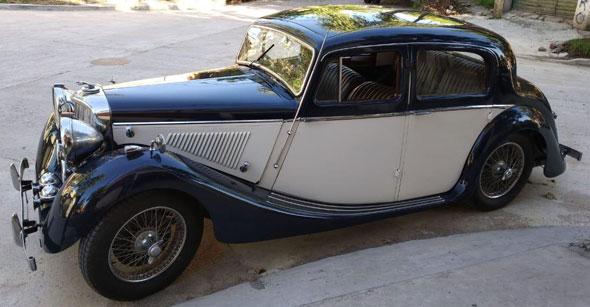 Auto Jaguar MK IV