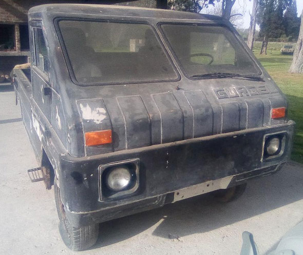 Auto Volkswagen Gurgel Safari