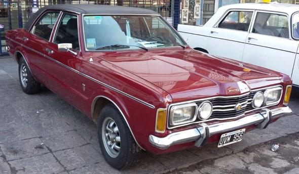 Auto Ford Taunus GXL 80