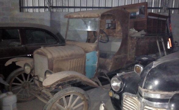 Auto Ford T Camión