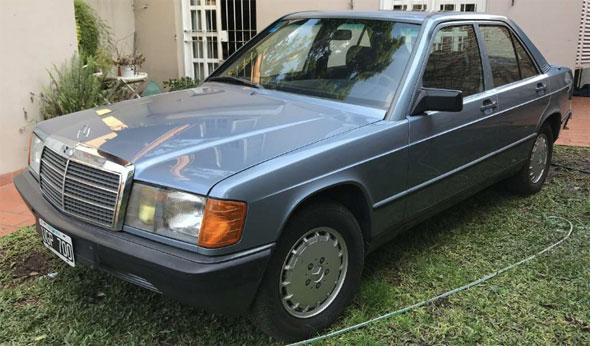 Auto Mercedes Benz 190E 1985