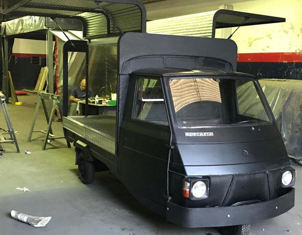 Auto Piaggio Apecar P2