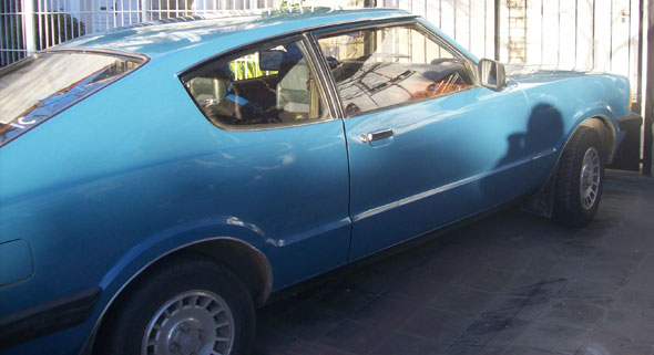 Auto Ford Taunus Coupè