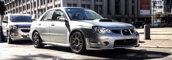 Auto Subaru Impreza WRX 2007