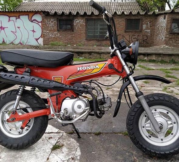 Moto Honda CT 70 Mini Trail
