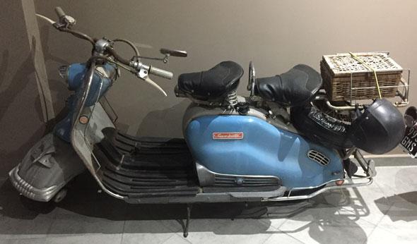 Siambretta 150 Delujo Motorcycle