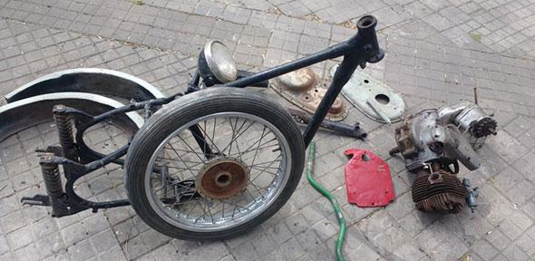 Moto BSA 250