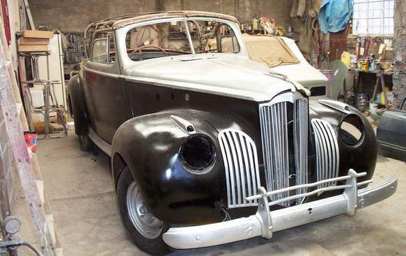 Auto Packard Coupé