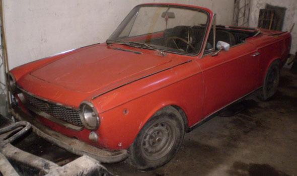 Auto Fiat Coupé Convertible