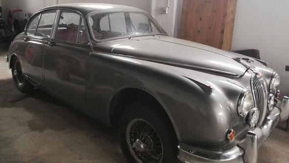 Auto Jaguar 1958