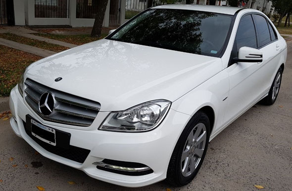 Auto Mercedes Benz C200 Blue Efficiency City Mt