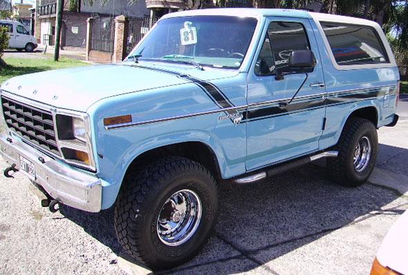 Ford Bronco XLT Diesel 4x4