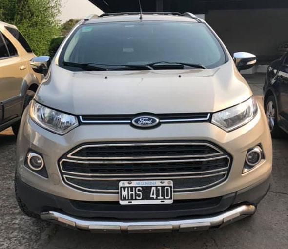 Ford Ecosport SE 2.0 2013
